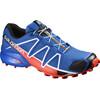 Salomon M's Speedcross 4 Shoes Blue Yonder/Black/Lava Orange